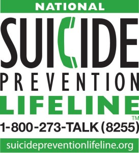 Thinking about suicide? Call: